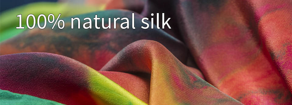100% natural silk